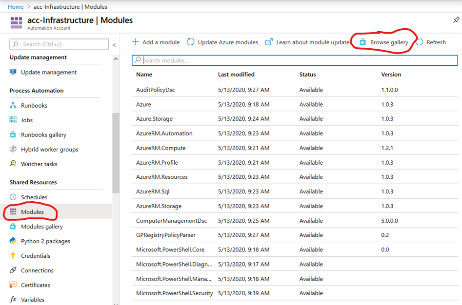 Check not started Azure instances - 03