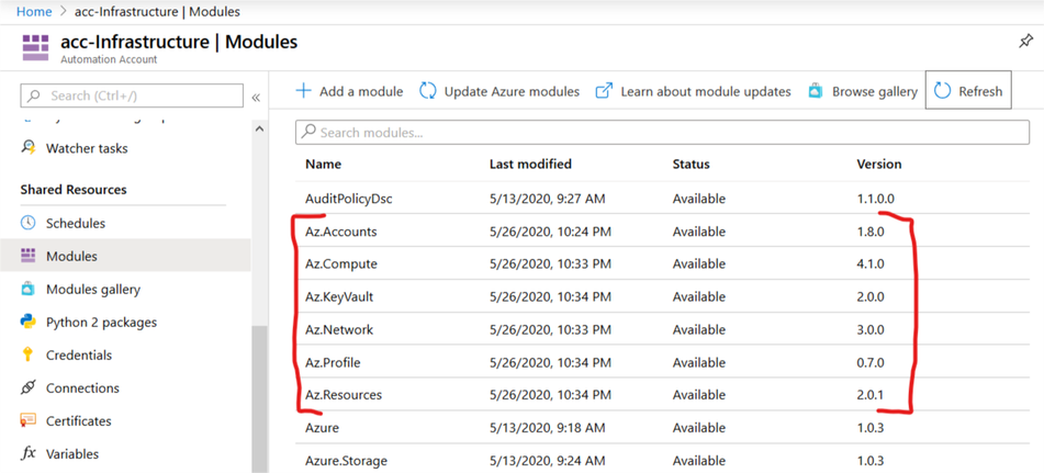 Check not started Azure instances - 07