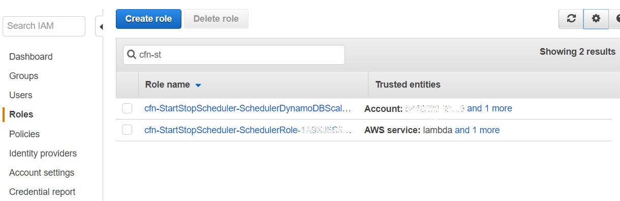 Start-stop AWS instances by a schedule
