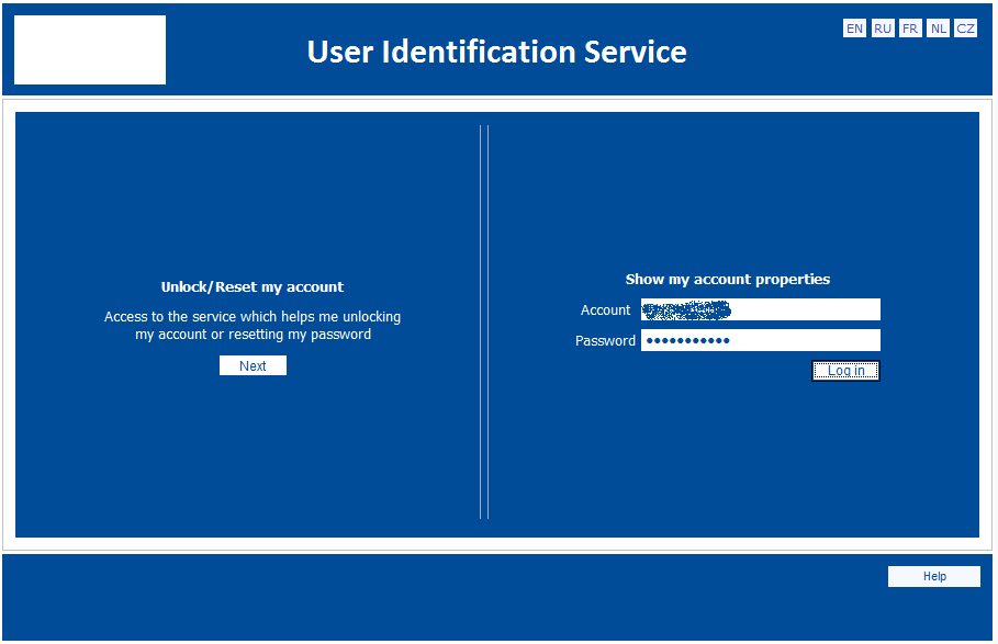 User identification service
